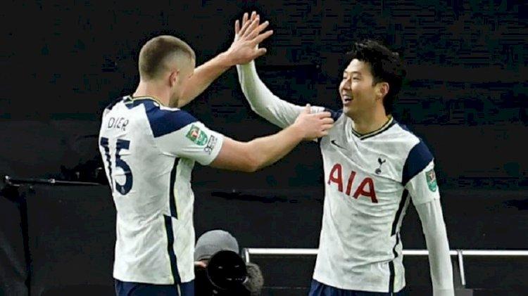 Tottenham Hotspur Maju ke Final Piala Liga Inggris