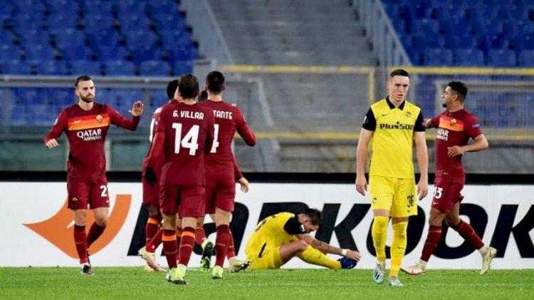 AS Roma Naik ke Posisi Keempat Klasemen usai Kalahkan Torino 3-1
