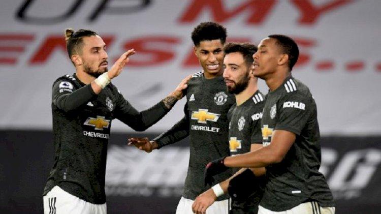 Liga Inggris: MU Kalahkan Sheffield United