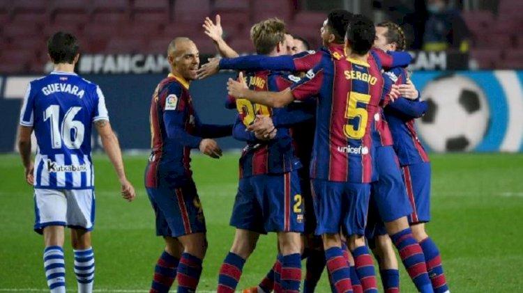Perbaiki Penampilan, Barca Sukses Taklukan Real Sociedad
