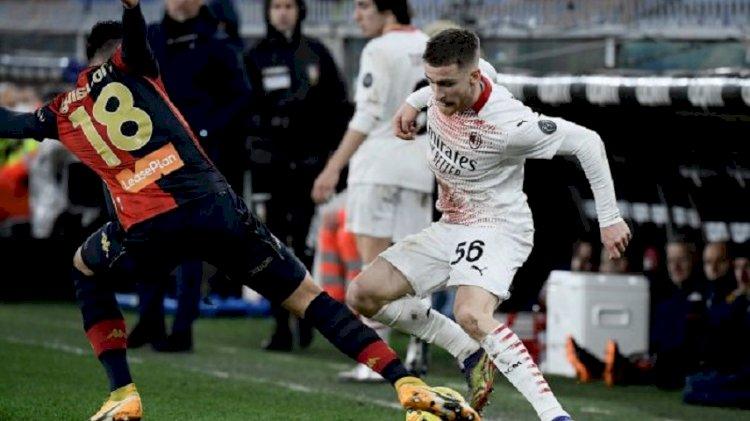 Imbang 2-2 Lawan Genoa, AC Milan Tetap Pimpin Klasemen