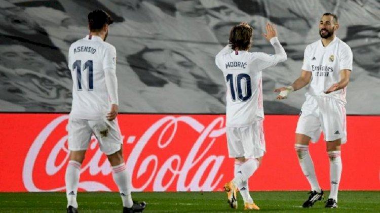 La Liga : Real Madrid Libas Bilbao 3-1