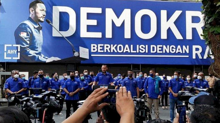 AHY Ucapkan Terima Kasih Pada Jokowi Yang Sudah Tunaikan Janji