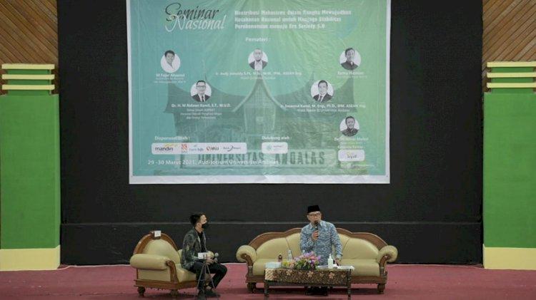 Energi Terbarukan, Ridwan Kamil Ajak Mahasiswa Kolaborasi dengan ADPMET