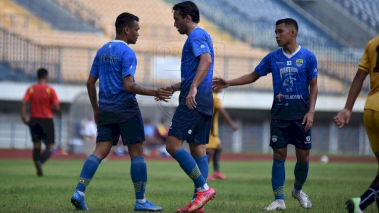 Pemain Persib Bandung yang Dijagokan pada Pertandingan Piala Menpora, Sore Nanti