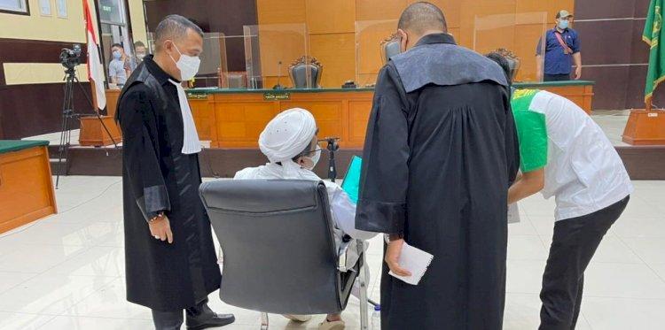 Sidang Putusan Sela Habib Rizieq Terkait Perkara Tes Swab UMMI Bogor Digelar Hari ini