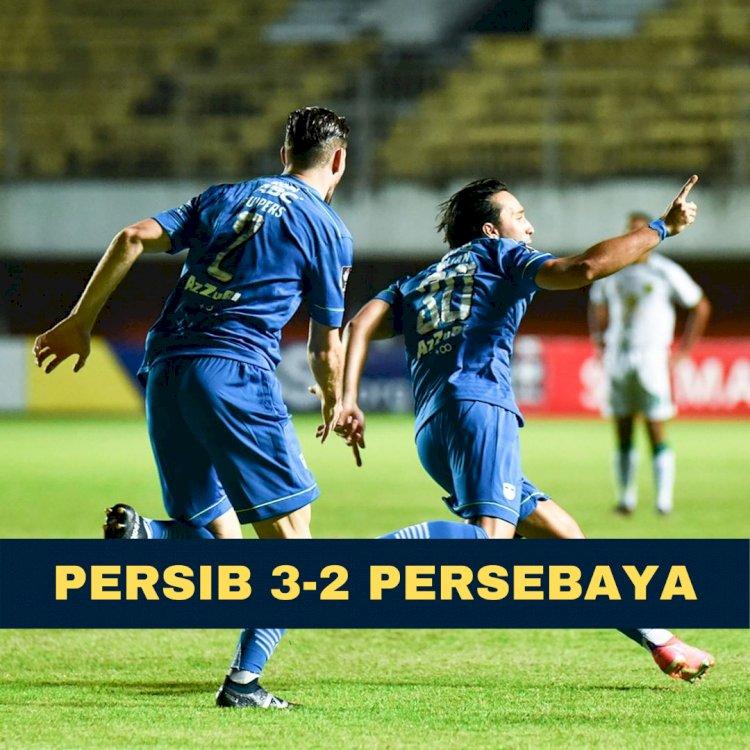Selamat! Persib Lolos ke Semifinal Piala Menpora