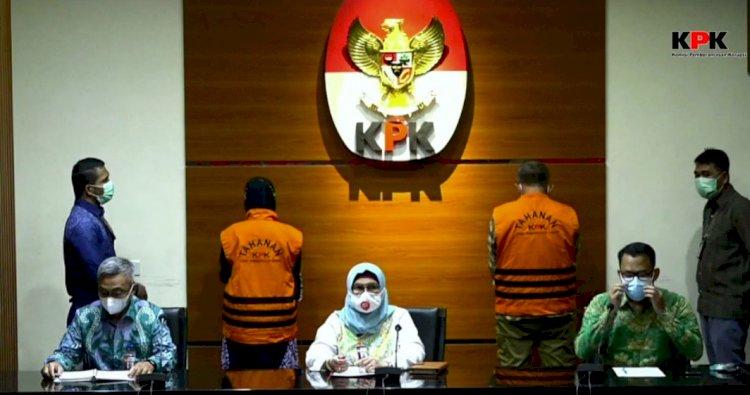 Kasus Suap Banprov Jabar, Siti Aisyah Bersama Ade Barkah Ditahan KPK
