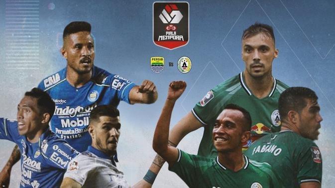 Piala Menpora; Persib Bandung Vs PSS Sleman, Rekam Jejak Pertemuan Dua Tim