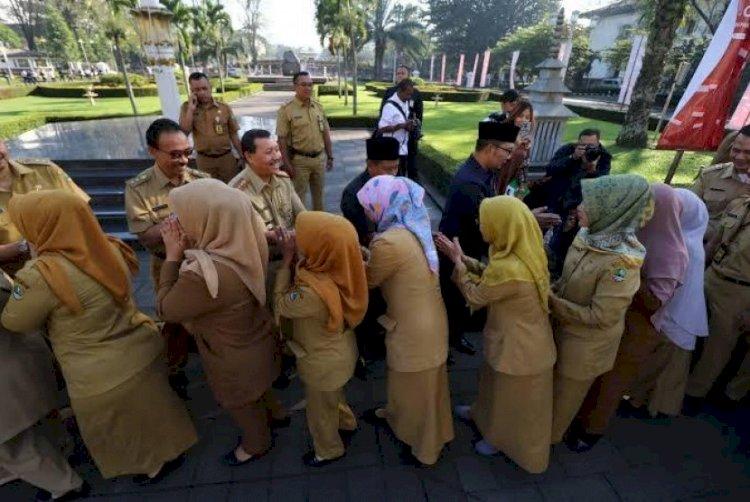 Ingatkan ASN Jangan Mudik, Ridwan Kamil: Sanksi Sudah Disiapkan Bagi yang Melanggar