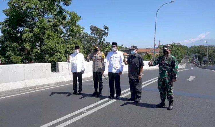 Ridwan Kamil Resmikan Dua Jalan Layang di Kota Bandung