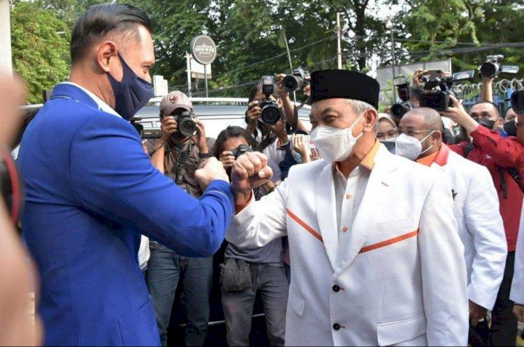 Presiden PKS Ahmad Syaikhu Bertemu AHY, Ini yang dibahas