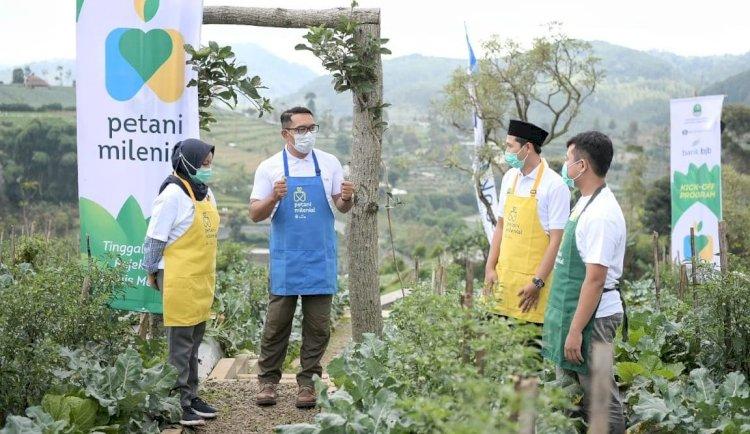 Jabar Siapkan 40 Hektare Lahan untuk Program Petani Milenial