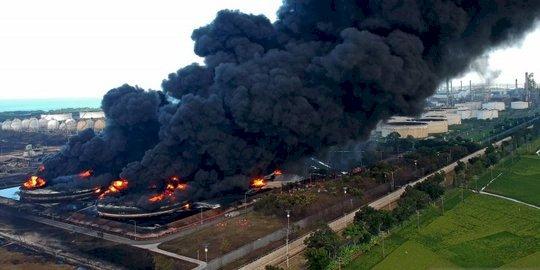 Kebakaran di Kilang Minyak, Ridwan Kamil Pastikan Keselamatan Warga Hal Utama