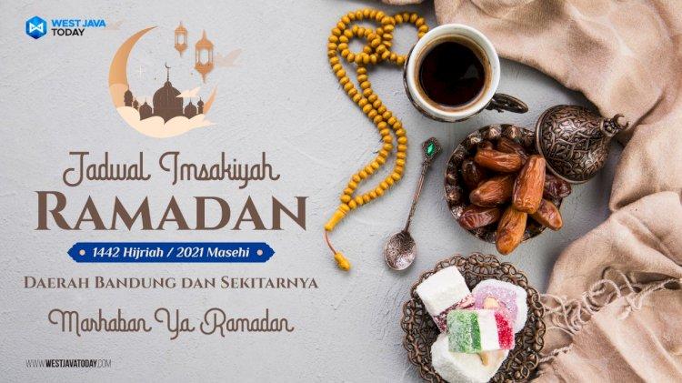 Jadwal Imsakiyah Kota Bandung dan sekitarnya hari ini, 14 Ramadan 1442 H