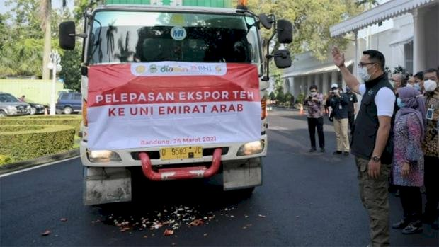 Jawa Barat Ekspor 20 Ton Teh ke Uni Emirat Arab