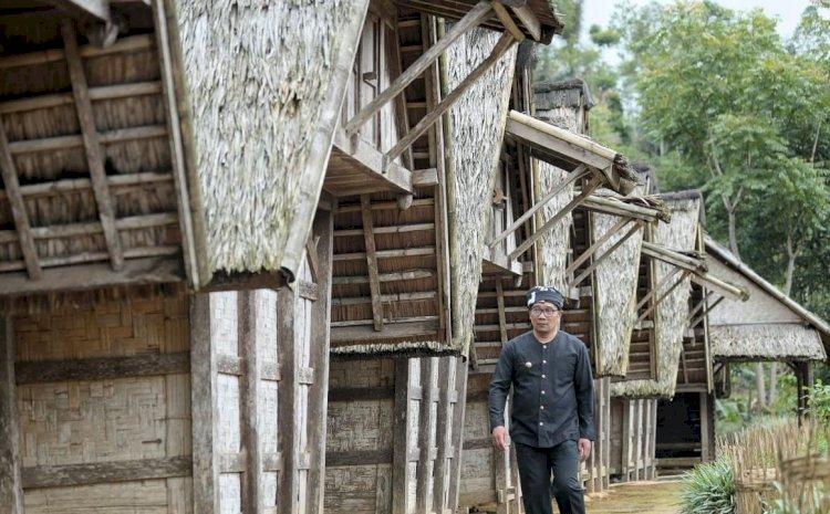 Ridwan Kamil Kagum Inovasi Teknologi Warga Kampung Adat Ciptagelar