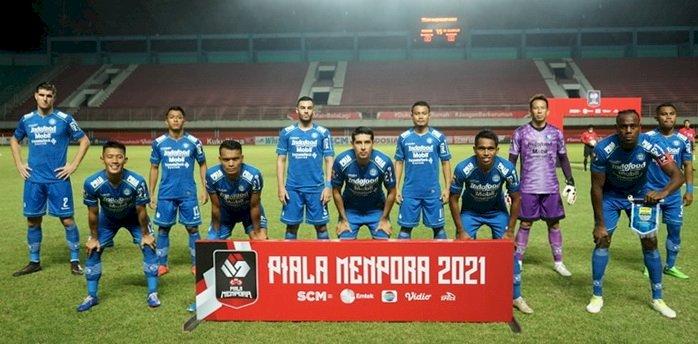Leg Kedua Final Piala Menpora, Pelatih Persib Bandung  Minta Pemain Tak Menyerah