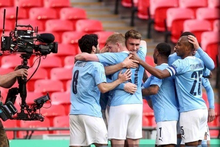 Tundukan Tottenham, Manchester City Juara Piala Liga Inggris 2021