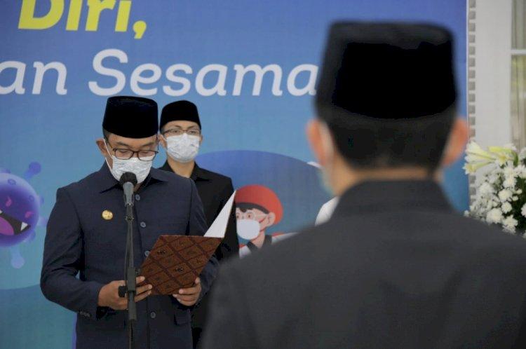 Ridwan Kamil Lantik 545 Pejabat di Lingkungan Pemda Provinsi