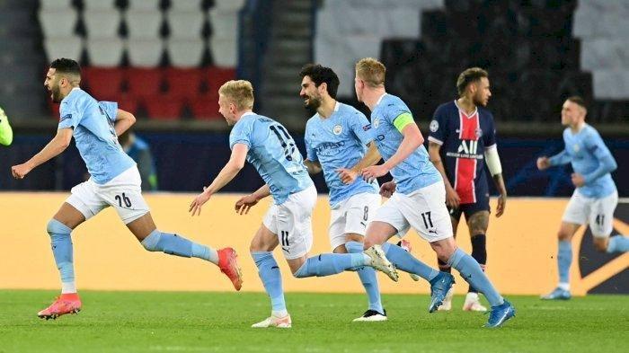 Hasil Semifinal Leg 1 Liga Champions: Man City Tekuk PSG, Real Madrid Imbang Lawan Chelsea