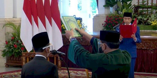 Resmi! Jokowi Hanya Lantik Nadiem, Bahlil dan Tri Handoko