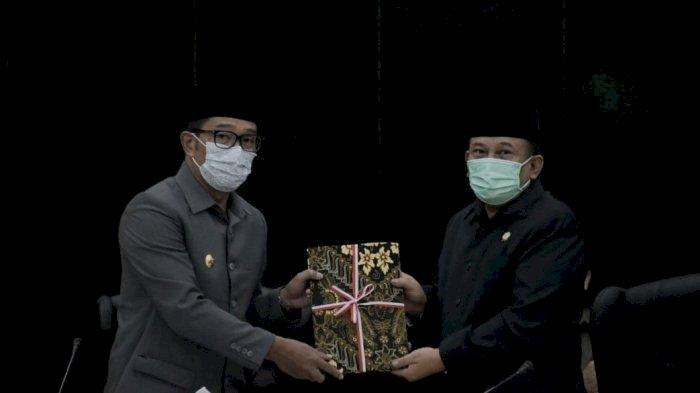 LKPJ Gubernur Jabar 2020 Diterima DPRD
