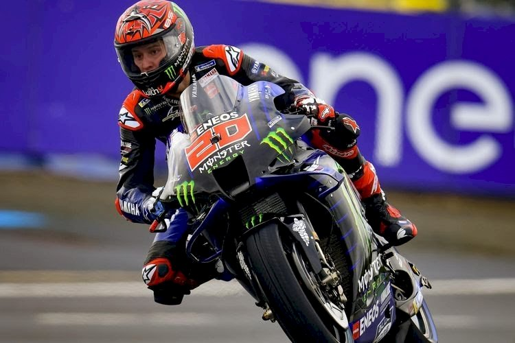 Hasil Kualifikasi MotoGP Prancis: Fabio Quartararo Pole Position