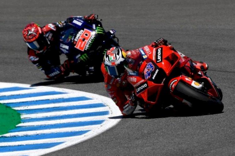 Hasil MotoGP Prancis 2021 Jack Miller Raih Podium, Quartararo Tetap di Posisi Teratas