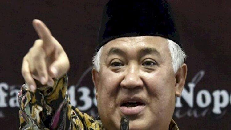 Din Syamsuddin :  Bapak Presiden Resah, Risau, dan Mungkin Juga Galau
