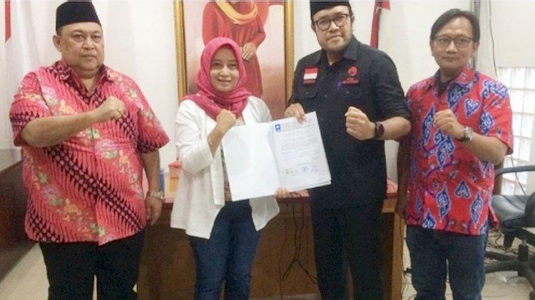 DPP PDIP Tetapkan Pasangan Yena-Atep Maju di Pilkada Kabupaten Bandung