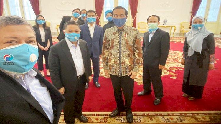 Ketum Partai Gelora dan PAN Temui Jokowi, Ada Apa?