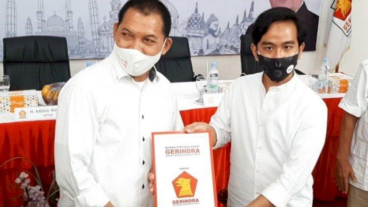 Resmi Didukung Gerindra, Gibran Semakin Kokoh Melangkah di Pilkada Kota Solo