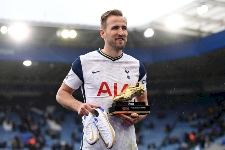 Striker Tottenham Hotspur Harry Kane Top Scorer Premier League