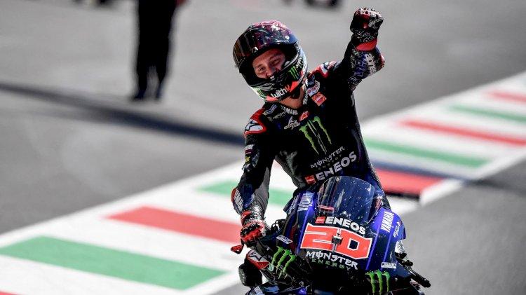 Fabio Quartararo Dedikasikan Kemenangan MotoGP Italia untuk Jason Dupasquier