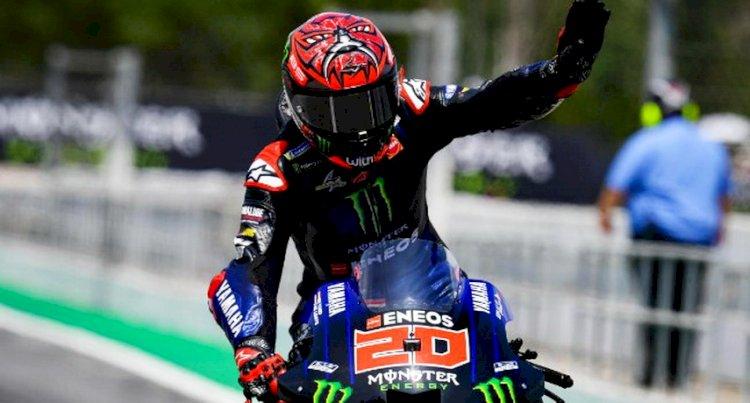Quartararo Masih Puncaki Klasemen Sementara Usai MotoGP Catalunya 2021