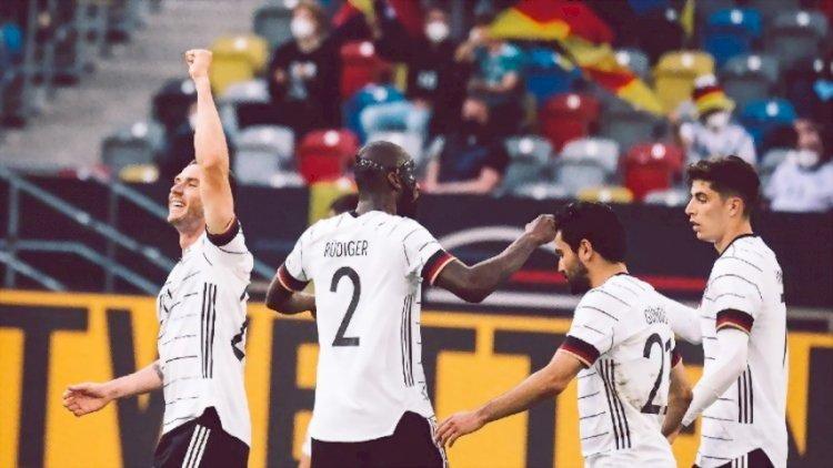 Jerman Lumat Latvia 7-1 dalam Laga Pemanasan Jelang Piala Eropa 2020