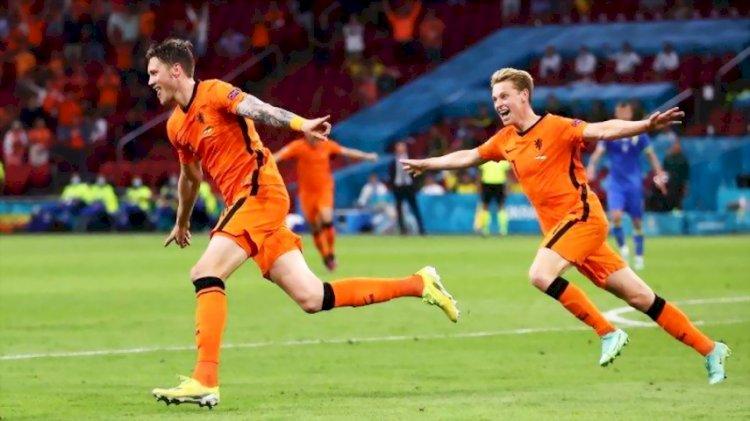 Belanda Kalahkan Ukraina 3-2 dalam Duel Sengit di Amsterdam