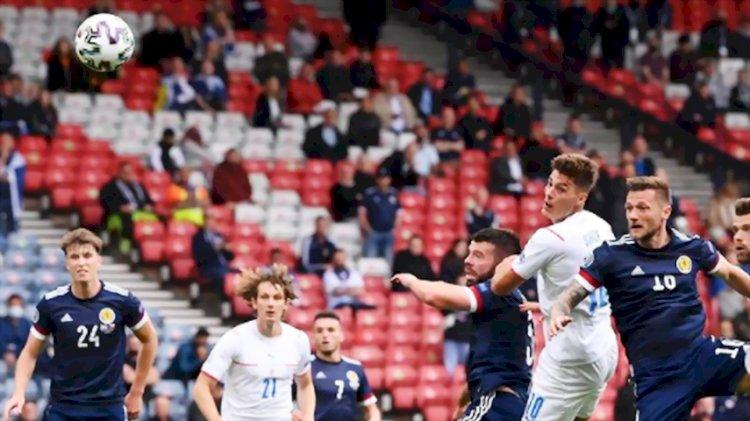 Ceko Tampil Perkasa Kalahkan Skotlandia 2-0