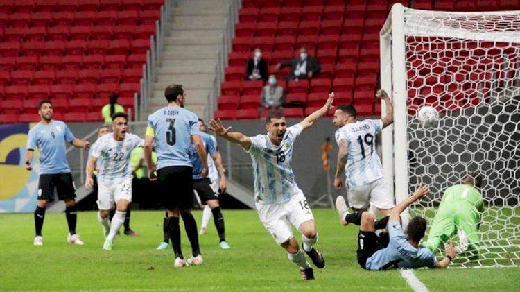 Copa America: Argentina Menang Tipis 1-0 Atas Uruguay