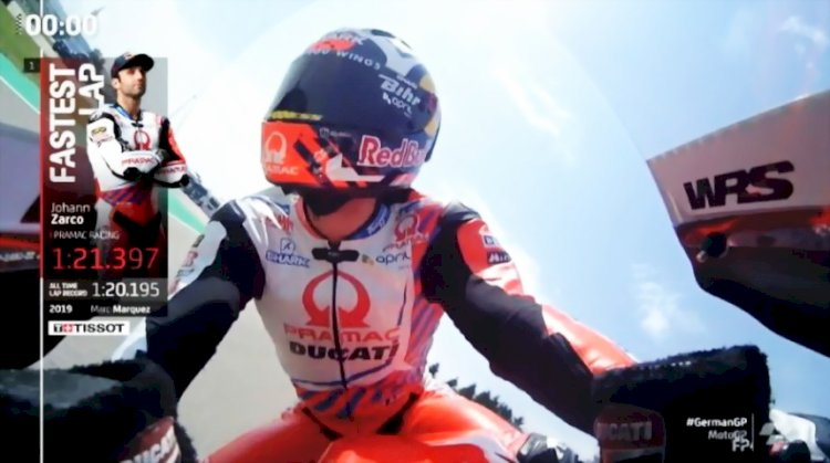 Hasil Kualifikasi MotoGP Jerman 2021: Johann Zarco Raih Pole