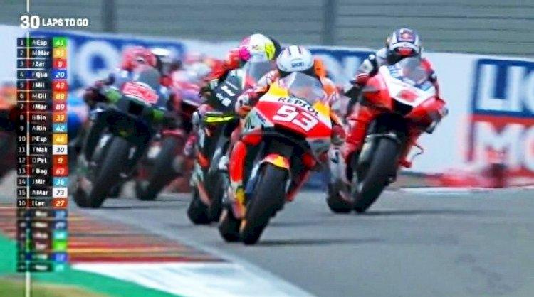 Marquez Telah Kembali! Raih Podium Pertama di MotoGP Jerman 2021