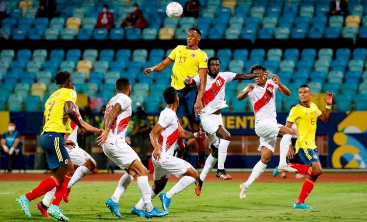 Hasil Copa America: Kolombia 1-2 Peru, Venezuela 2-2 Ekuador