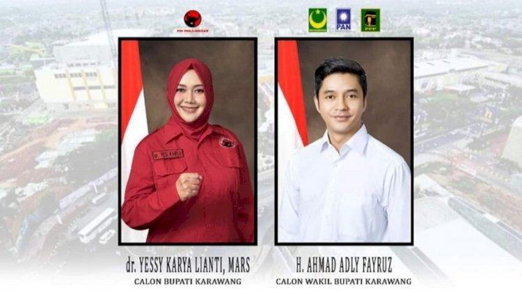 Adly Fairuz Maju Pilkada Karawang sebagai Calon Wakil Bupati