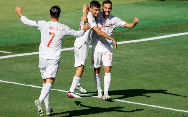 Hasil Akhir Grup E: Spanyol Hajar Slovakia 5-0, Swedia 3-2 Polandia