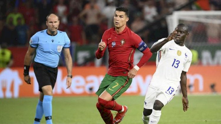 Laga Akhir Grup F: Prancis 2-2 Portugal, Jerman 2-2 Hungaria