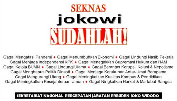 Muak dengan Wacana Presiden 3 Periode, Gerakan SJS yang Digagas Adhie Massardi Dinilai Akan Didukung Rakyat