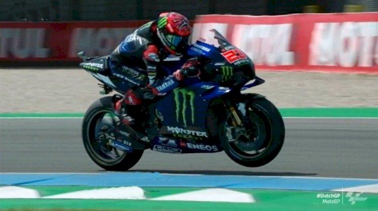 Yamaha Sukses Finis 1-2 di MotoGP Belanda 2021, Quartararo dan Vinales