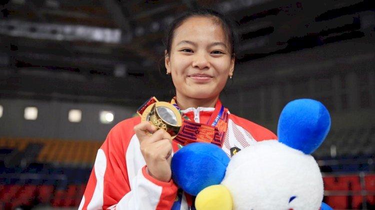 Lifter Wanita Asal Bandung Lolos ke Olimpiade Tokyo 2020