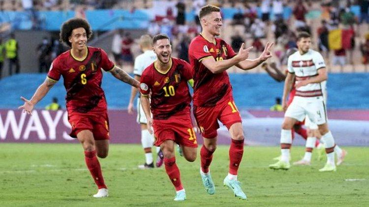 Belgia Kirim Portugal Pulang dari Euro 2020, Menang Tipis 1-0